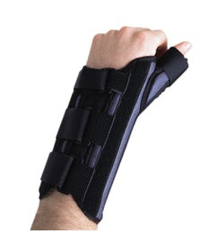 Wrist Brace Cock-up with Thumb Spica