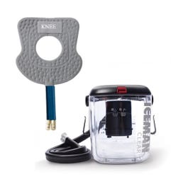 DonJoy IceMan CLEAR3 Cold Therapy System with McGuire Knee Pad