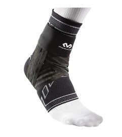 McDavid Elite Elastic Ankle Brace W/Figure 6 Strap & Stays