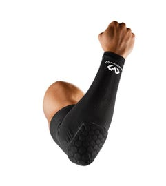 McDavid Elite Hex Shooter Arm Sleeve/Single Black