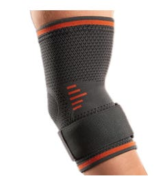 Orliman Elastic Elbow Support with Gel Pads