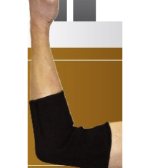 MKO Elbow Support in Black