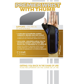 Premiere Wrist Brace with Thumb