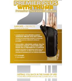 Premier Plus Wrist with Thumb