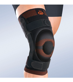 Rodisil Closed Patella Knee Brace with Metal Hinges