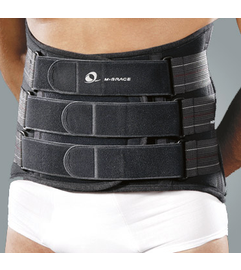 M-Brace Castor Lumbo Sacral (Without Panels) 13""