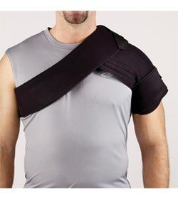 Corflex Cryotherm Hot/Cold Shoulder Wrap - Contains 4 Gel Packs